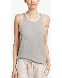 James Perse - Organic Cotton Cashmere Tank - Lyst