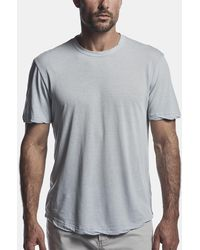 James Perse Clear Jersey Crew - Gray