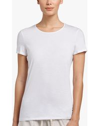 James Perse - Luxe Lotus Jersey Tee - Lyst