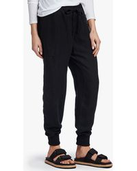 James Perse Canvas Linen Relaxed Pant - Black