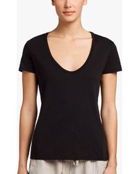 James Perse - Relaxed Casual T-shirt - Lyst