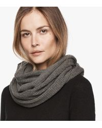 James Perse - Cashmere Infinity Scarf - Lyst