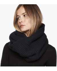 James Perse - Cardigan Stitch Infinity Scarf - Lyst