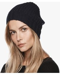 James Perse - Cardigan Stitch Cashmere Beanie - Lyst