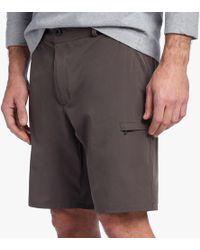 James Perse - Y/osemite Zip Pocket Sport Short - Lyst