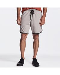 James Perse Y/osemite Jersey Basketball Short - Grey