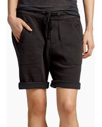 James Perse - Soft Twill Utility Short - Lyst