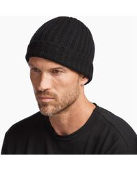 James Perse - Ribbed Cashmere Beanie - Lyst