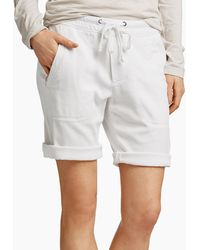 James Perse Soft Twill Utility Short - White
