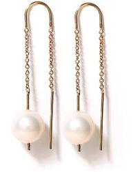 Jason Wu - Thin Chain Earrings - Lyst