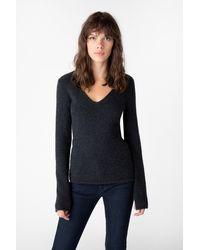 J Brand - Brigid V-neck Sweater - Lyst