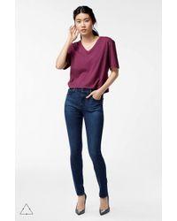 J Brand Maria High-rise Super Skinny - Blue