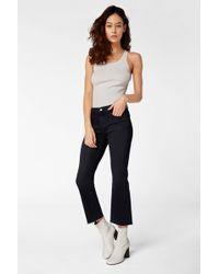 J Brand Selena Mid-rise Cropped Boot Cut - Blue