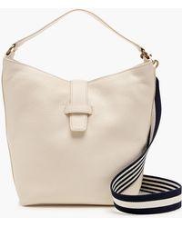 J.Crew - Signet Hobo Bag In Italian Leather - Lyst