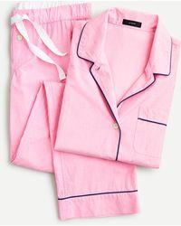J.Crew Vintage Pajama Set - Pink