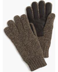 J.Crew - Wool Smartphone Gloves - Lyst