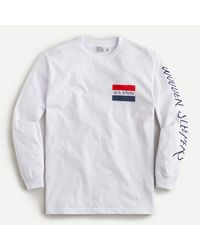 J.Crew Wooden Sleepers X Long-sleeve T-shirt - White