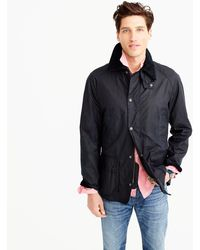 J.Crew - Barbour Sylkoil Ashby Jacket - Lyst