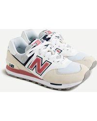 J.Crew New Balance® 574 Sneakers - White