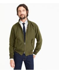 Baracuta - G9 Harrington Jacket In Olive - Lyst