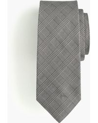 J.Crew - Destination Silk-wool Tie In Glen Plaid - Lyst