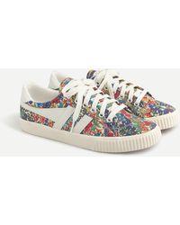 Gola Mark Cox Sneakers In Liberty Margaret Annie Print - Multicolor