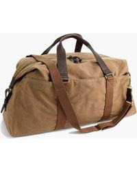 J.Crew - Abingdon Weekender Bag - Lyst