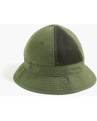 J.Crew - Mesh Panelled Bucket Hat - Lyst