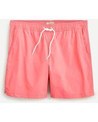 """J.Crew 6"""" Stretch Swim Trunk - Pink"""
