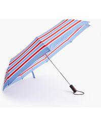 J.Crew Pocket Umbrella - Blue