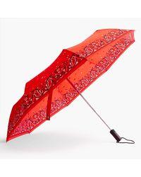 J.Crew Pocket Umbrella - Red