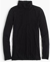 J.Crew - Tissue Turtleneck T-shirt - Lyst