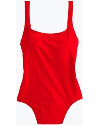 J.Crew - Women's 1989 Scoopback One-piece Swimsuit - Lyst