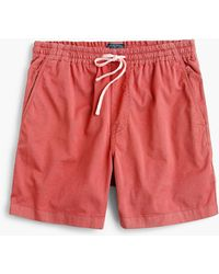 J.Crew - Dock Short In Stretch Chino - Lyst