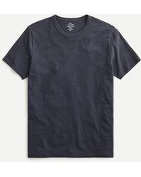 J.Crew Garment-dyed Slub Cotton No-pocket T-shirt - Black