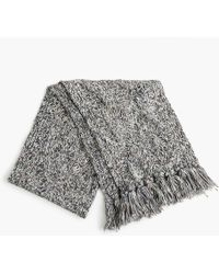 J.Crew - Chunky Donegal Cable-knit Scarf - Lyst
