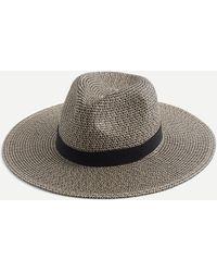 J.Crew Marled Wide Brim Packable Hat - Multicolor