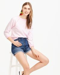 J.Crew - Saint James Striped Sweatshirt - Lyst