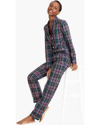 J.Crew - Vintage Pajama Set In Signature Tartan - Lyst