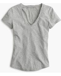 J.Crew - Mercantile Scoopneck Tissue T-shirt - Lyst