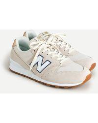 J.Crew New Balance® X 996 Sneakers - White