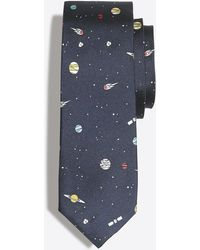 J.Crew - Mercantile Printed Silk Tie - Lyst