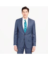 J.Crew - Ludlow Suit Pant In Italian Worsted Wool - Lyst