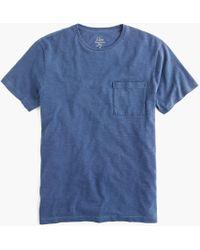 J.Crew - Tall Slub Cotton Garment-dyed T-shirt - Lyst