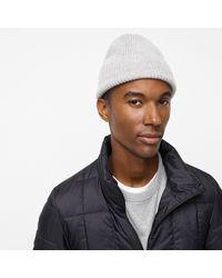 J.Crew Cashmere Hat - Gray