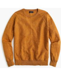 J.Crew - Tall rugged Cotton Sweater - Lyst