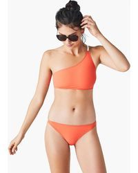 Flagpole Swim - Haley One-shoulder Bikini Top - Lyst