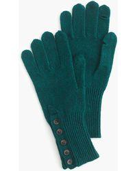 J.Crew - Button Cuff Gloves - Lyst