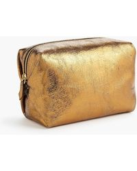 J.Crew - Harper Dopp Kit In Italian Leather - Lyst
