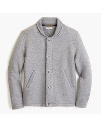 J.Crew - Wallace & Barnes Felted Merino Wool Deck Jacket - Lyst